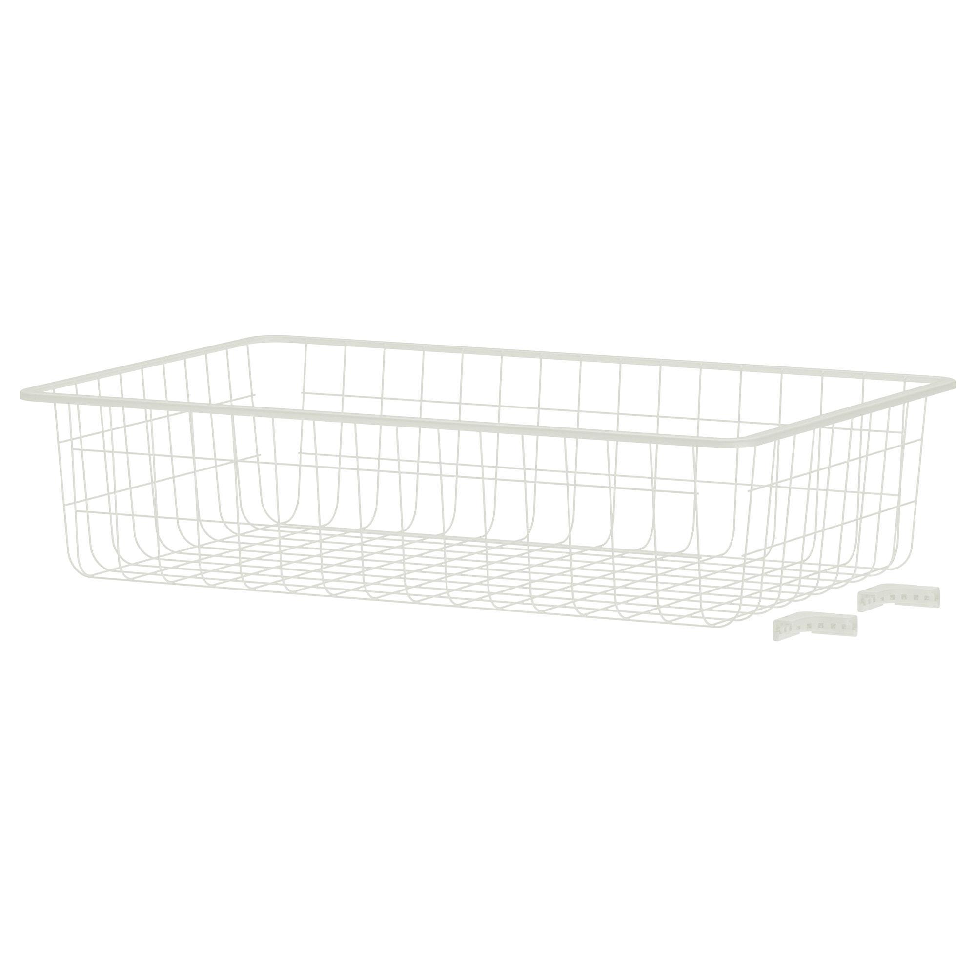 PROMO!! IKEA ALGOT Keranjang Kawat Putih Ukuran 38x60x14 cm MURAH /  BUBBLE 3 LAPIS / ORIGINAL / IKEA ORIGINAL