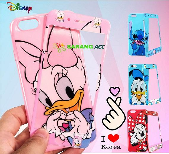 CASE KOREA DISNEY WITH TEMPER FOR OPPO F1S