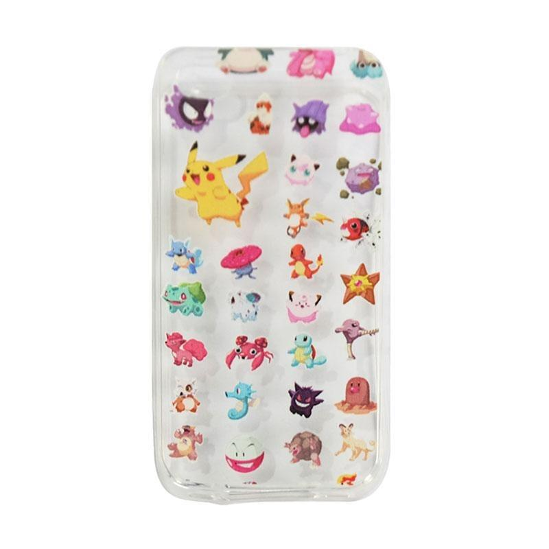 Ultrathin Case Pokemon Apple iPhone 5G/5S/5SE UltraFit Air Case Apple iPhone 5G/5S/5SE Casing Apple iPhone 5G/5S/5SE Jelly Case Apple iPhone 5G/5S/5SE - Aneka Ragam
