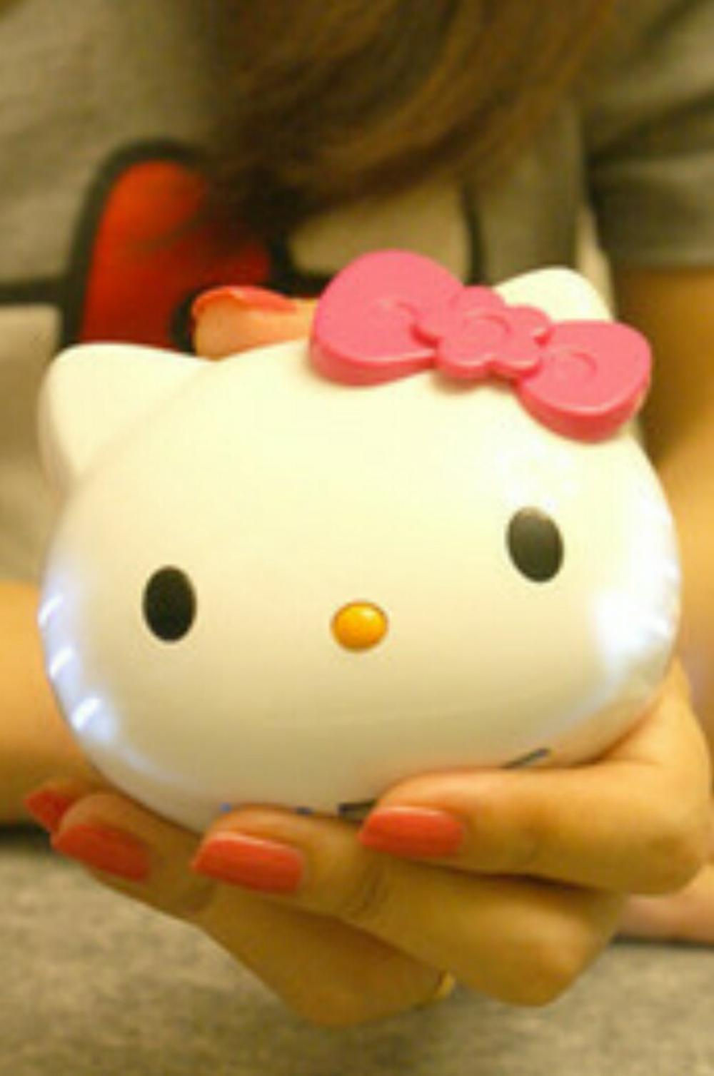 Powerbank Kepala Hello Kitty 3D 12000mAh - Powerbank lucu Hellokitty 3D  di lapak BJC BEKASI bintangcells
