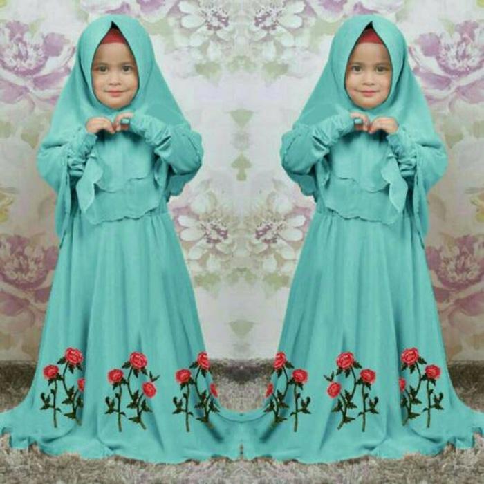 Gamis / Baju Muslim Anak Alya Syari