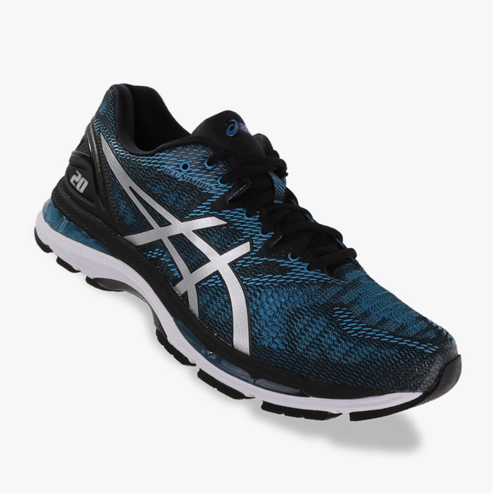 Asics Gel-Nimbus 20 Sepatu Lari Pria - Standard Wide - Blue f5ec8fe3ad