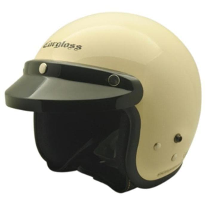 Helm Cargloss CF Retro Army Avorio Naiade Helm Half Face