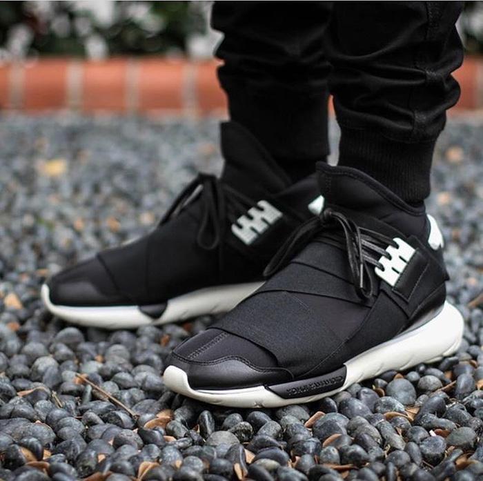 Murah -  Adidas Y3 Qasa Yamamoto Black White Premium OR