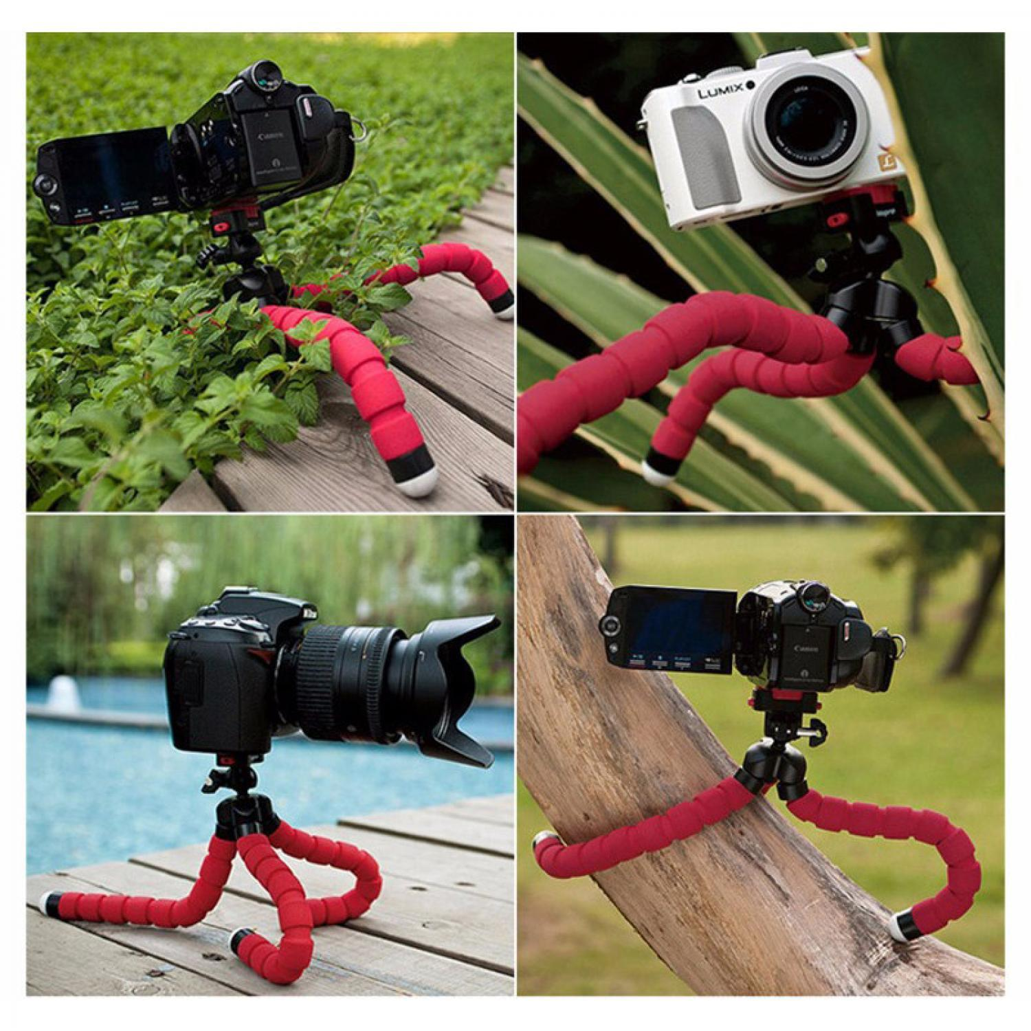 Mini Tripod Octopus for Action Camera / Stand HP / Tripod Kamera Murah
