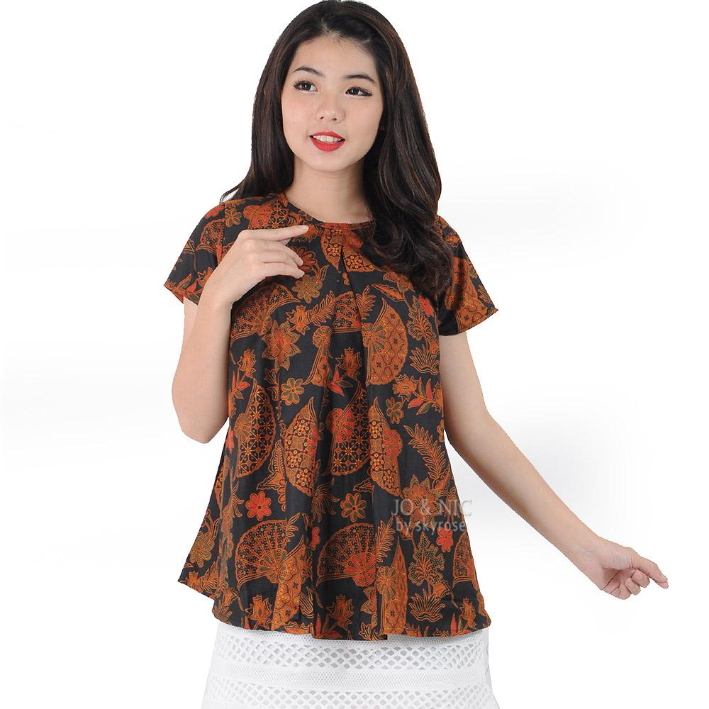 Buy Sell Cheapest Jo Retro Besar Best Quality Product Deals Marina Ribbon Longsleeve Top Sr0410 01 Nic Farah Babydoll Blouse Batik Wanita 3 Ukuran