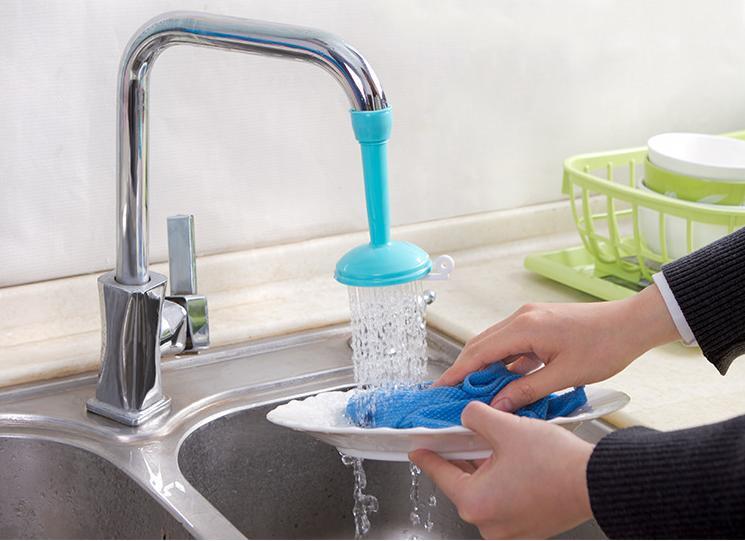 Sambungan Kran Penyambung Keran Air Flexibel Silicon Water ZH12