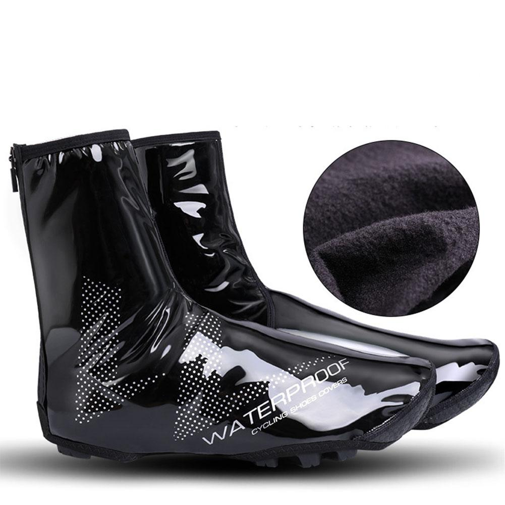 Qimiao Waterproof Shoe Covers Bicycle Warm Overshoes Riding Equipment for Mountain Road Bike