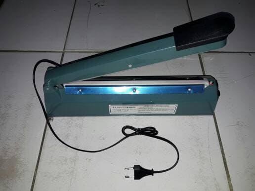 Promo Mesin Impulse Sealer Alat Press Pres Plastik Kemasan 30cm 30 cm original