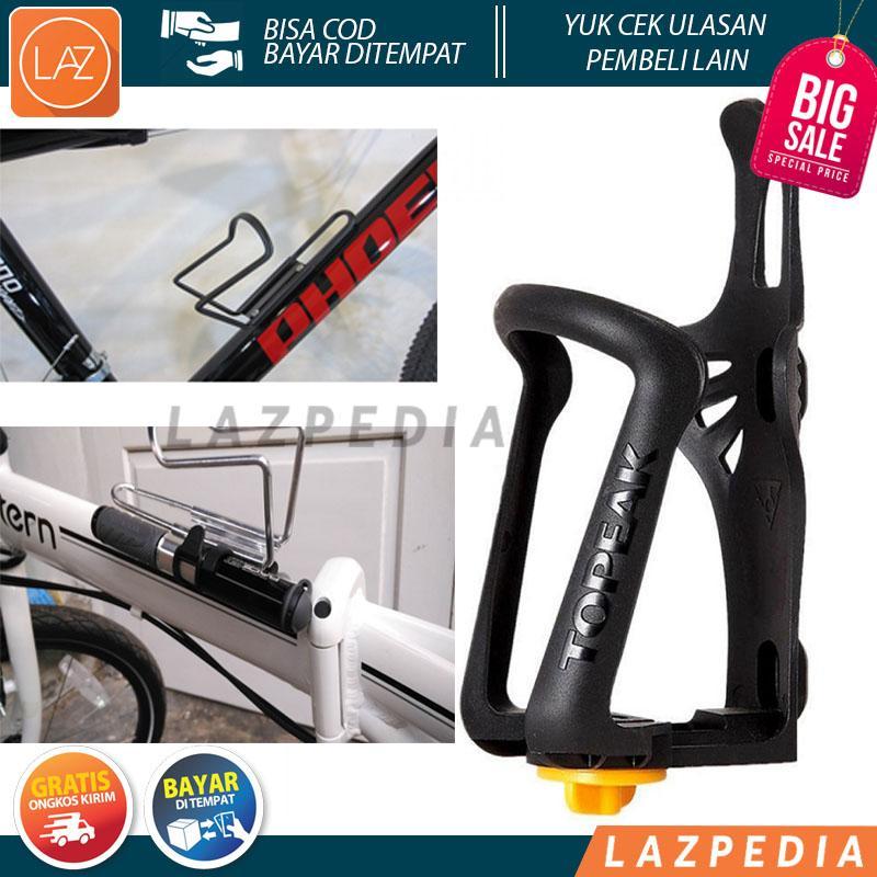 Laz Cod - Topeak Holder Botol Minum Sepeda Adjustable Mtb Design Modern Yang Modis Menyesuaikan Dengan Sepeda Pada Masa Kini / Hitam - Lazpedia By Lazpedia.