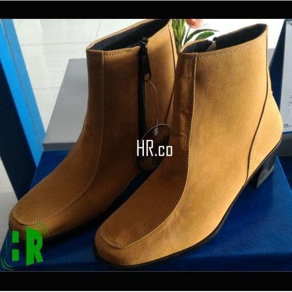 Promo Sepatu High Heels Boots Wanita Boot Cewek Elegan Cantik Gaya Cibaduyut Gratis Ongkir