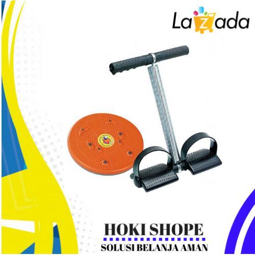 Paket Combo Sumper Murah Alat Olahraga Fitnes Rumahan Nikita/ Alat Olahraga Pembentuk Tubuh Ideal D