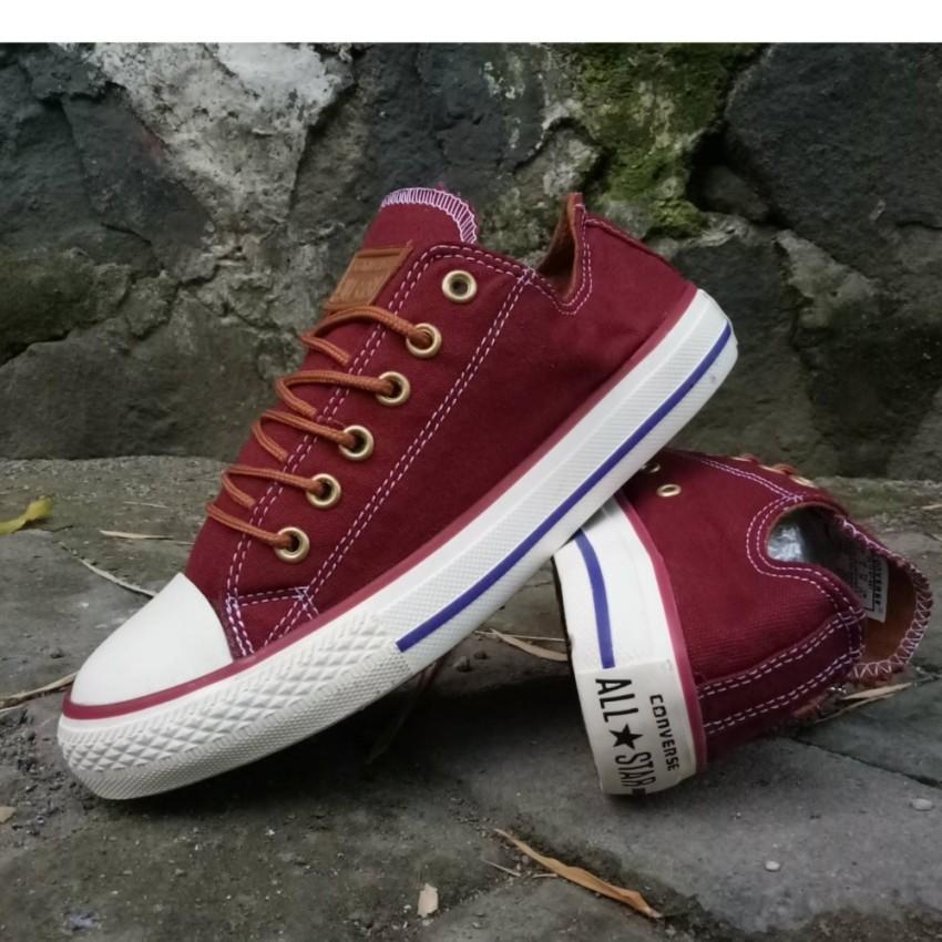 Sepatu Import Premium Converse CT II All Star776 Import Converse bisa untuk Sekolah Kuliah Pria dan gaya model pendek