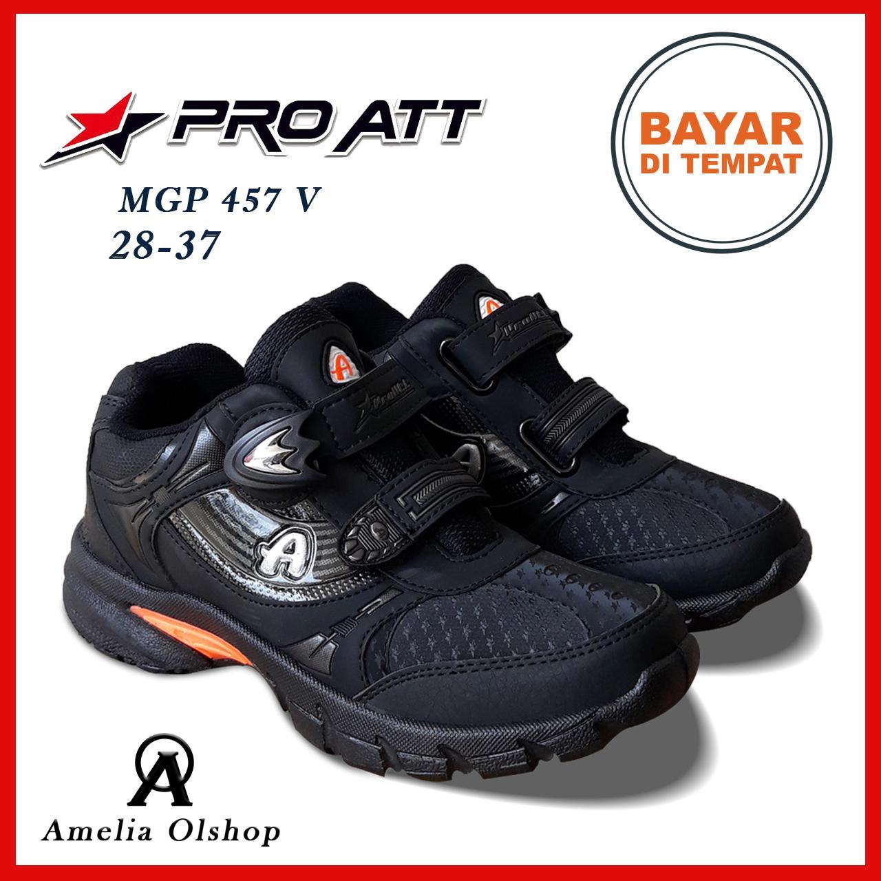 Amelia Olshop - Sepatu PRO ATT MGP 28-37   Sepatu Sekolah   Sepatu Hitam 3150e78c19