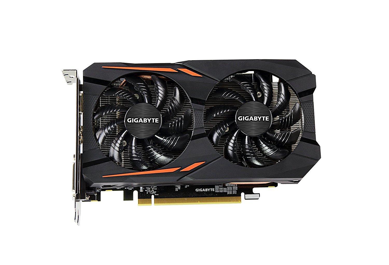 Gigabyte VGA Radeon RX 560 Gaming OC 4GB [GV-RX560GAMING OC-4GD] - Hitam