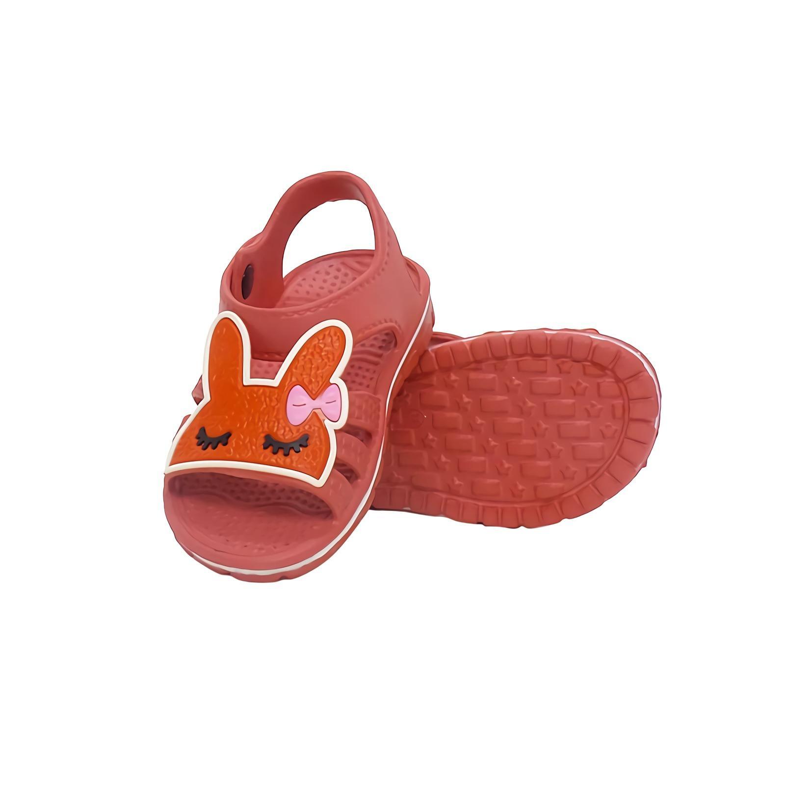 DULUX Sepatu Sandal Anak [24-29] RE-155D Kids Flat Shoes Merah