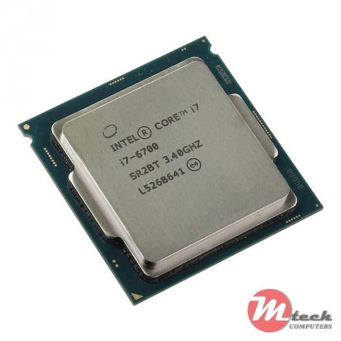 Processor Intel Core i7-6700 6th Gen 8M Cache, up to 4.