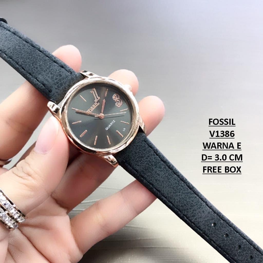 Fossil Emma Satchel Dark Floral Free Addict T Shirt Tas Wanita Hitam Jam Tangan V1386 Box Warna A