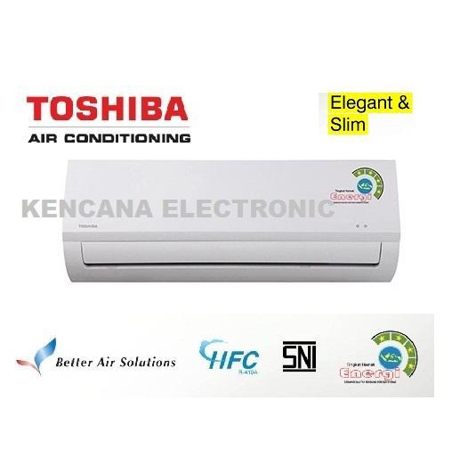 TOSHIBA RAS-05BKS AC Split 1/2 PK Golden Fin 390 Watt -FREE ONGKIR JABODETABEK