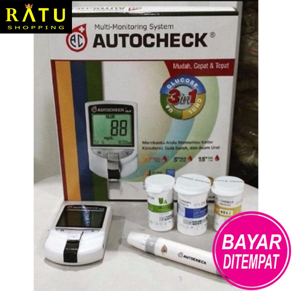 Buy Sell Cheapest Alat Kesehatan 3 Best Quality Product Deals Easy Touch Gcu In 1 Ratu Shopping Autocheck Gula Kolestrol Asam Urat Khusus Promo