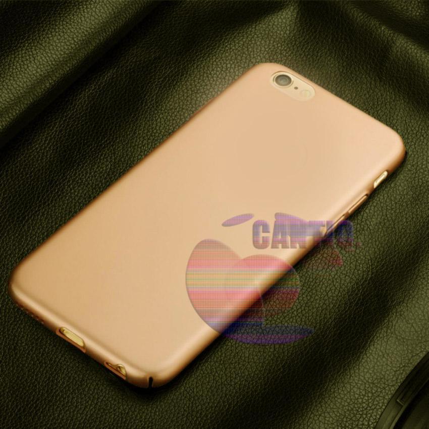 Case Apple Iphone 5G Hard Slim Gold Mate Anti Fingerprint Hybrid Case Baby Skin Iphone 5S Baby Soft Iphone 5SE Hardcase iphone 5 Plastic Back Cover / Casing iphone 5 - Gold / Emas