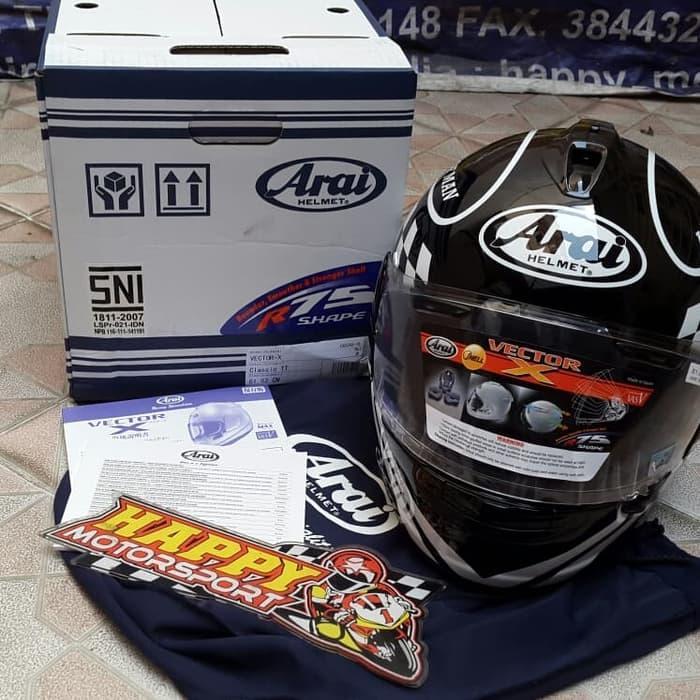 Helm full face Arai Vector-X classic IOM TT size XL ori
