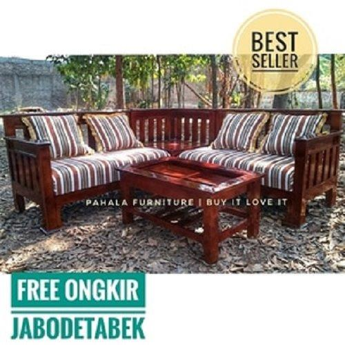 Kursi Tamu Jati Minimalis L BEST SELLER!!! (Furniture Jati)