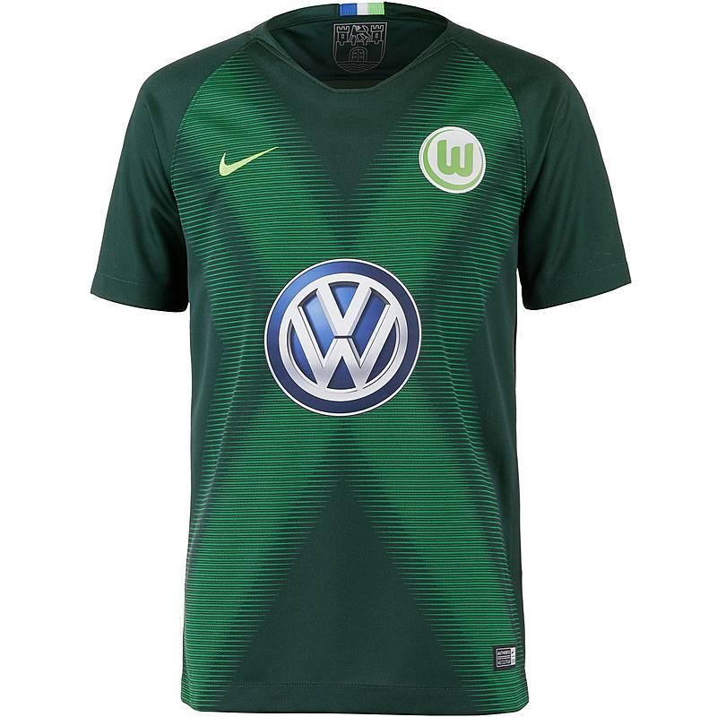 chonoa Jersey Bola Wolfsburg Home 2018/19 new