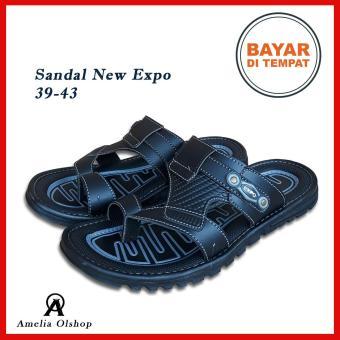 Pencari Harga Amelia Olshop - Sandal Pria Selop Jempol NEW EXPO 39-43    Sandal bd82ab4d7e