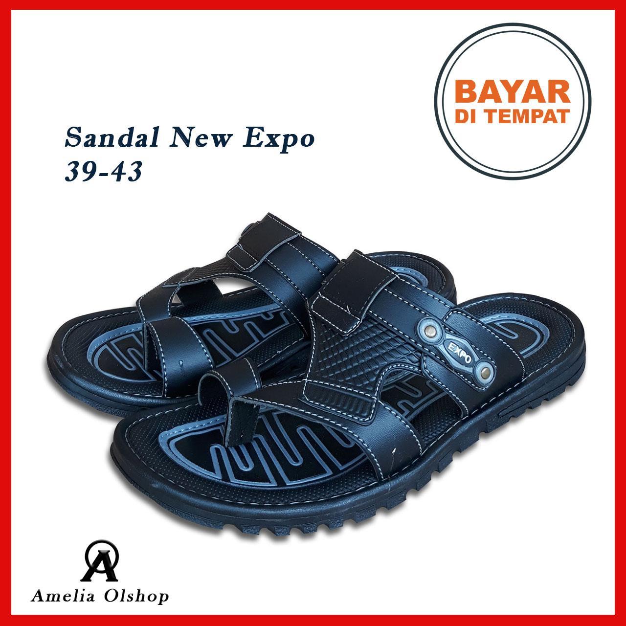 Amelia Olshop - Sandal Pria Selop Jempol NEW EXPO 39-43 / Sandal Pria / Fashion Pria / Sandal Keren /  sendal pria / sandal flat / Sandal selop Pria