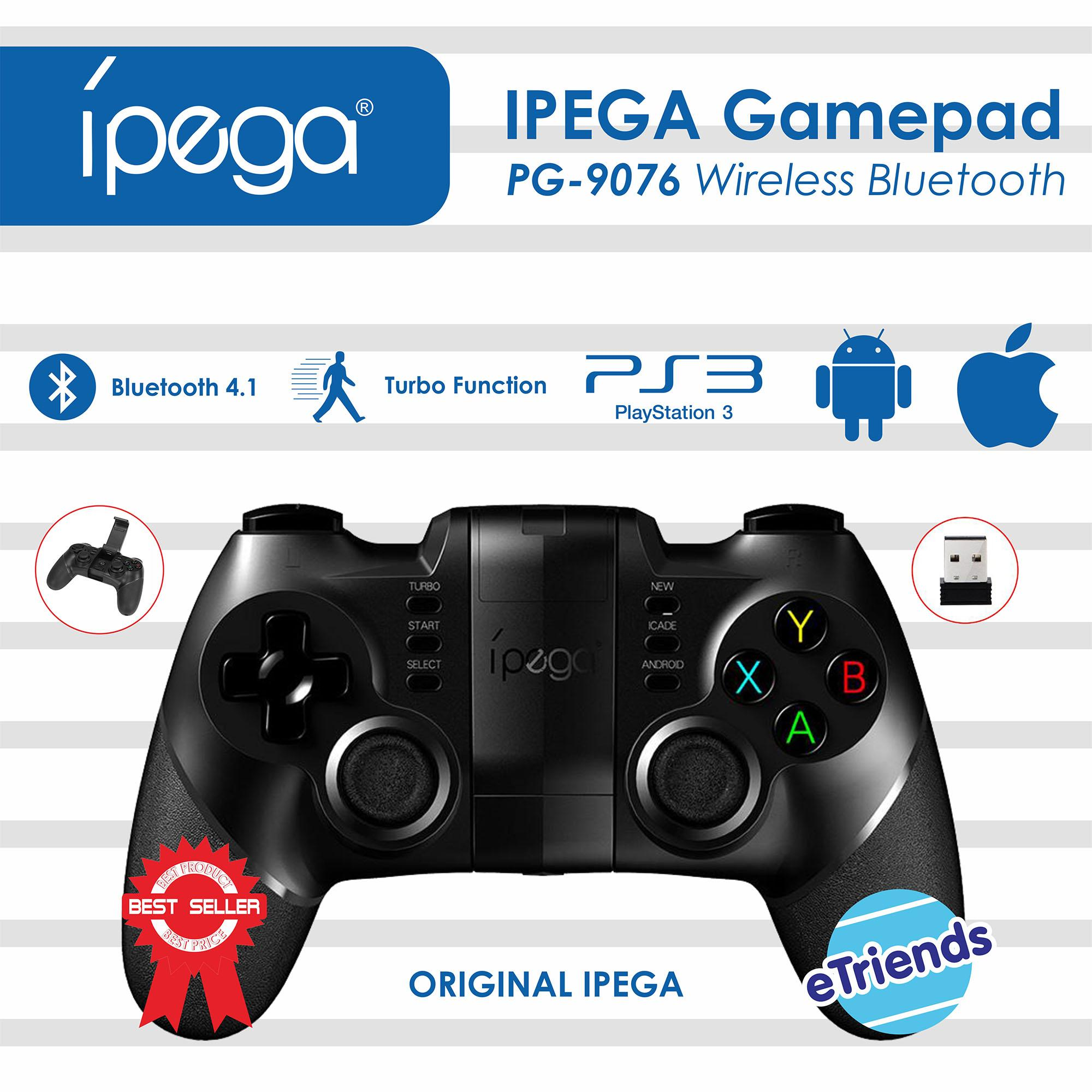 Gamepad Ipega PG-9076 Wireless Bluetooth For Android / Ios / PC / Playstation 3