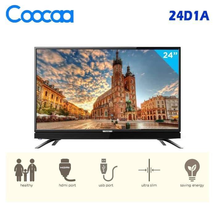 coocaa 24D1A LED TV 24 Inch - Resmi