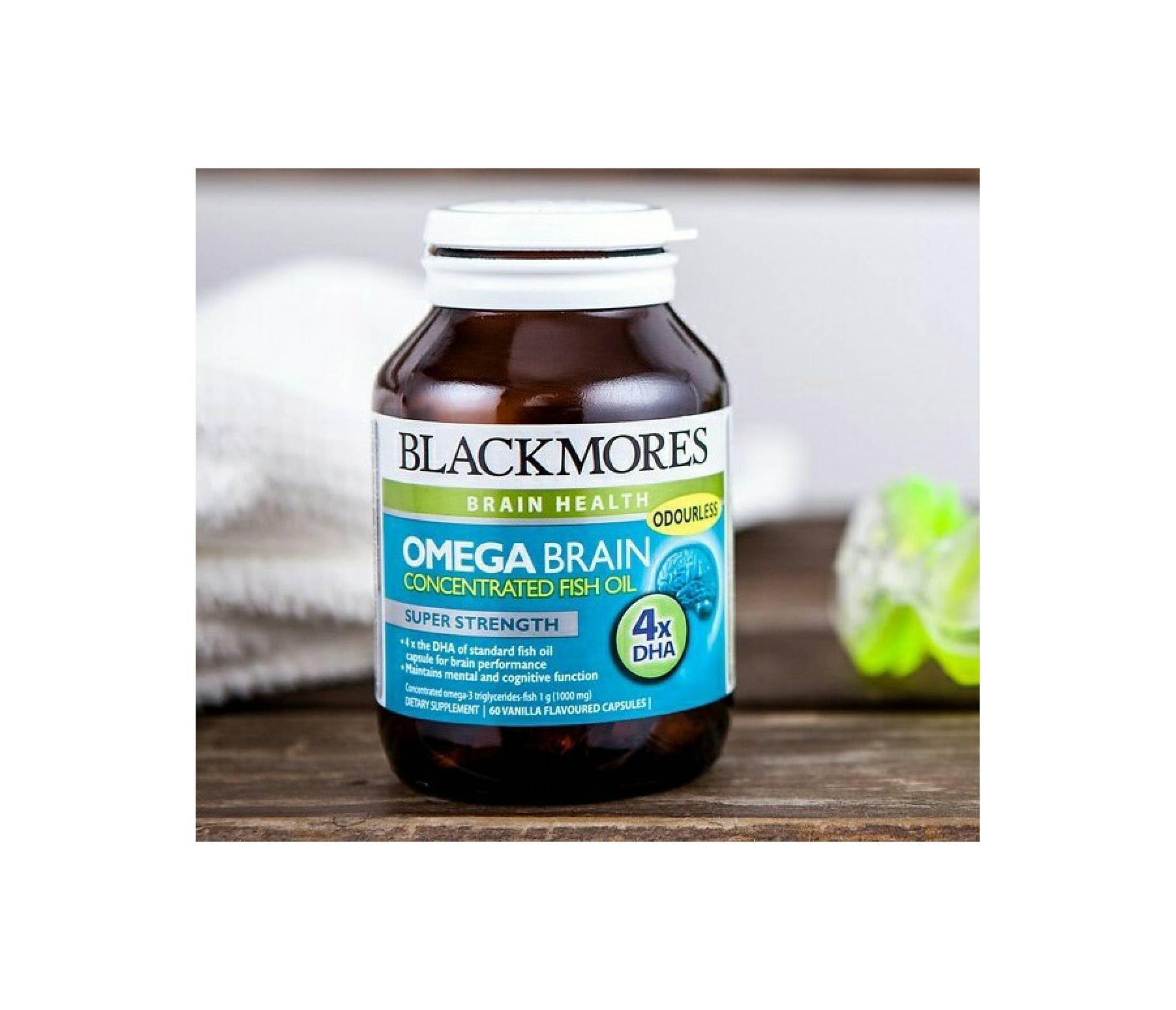 List Harga Blackmores Omega Brain Terpercaya Superkids Chewables Minyak Ikan Fish Oil Concentrated 60 Kapsul