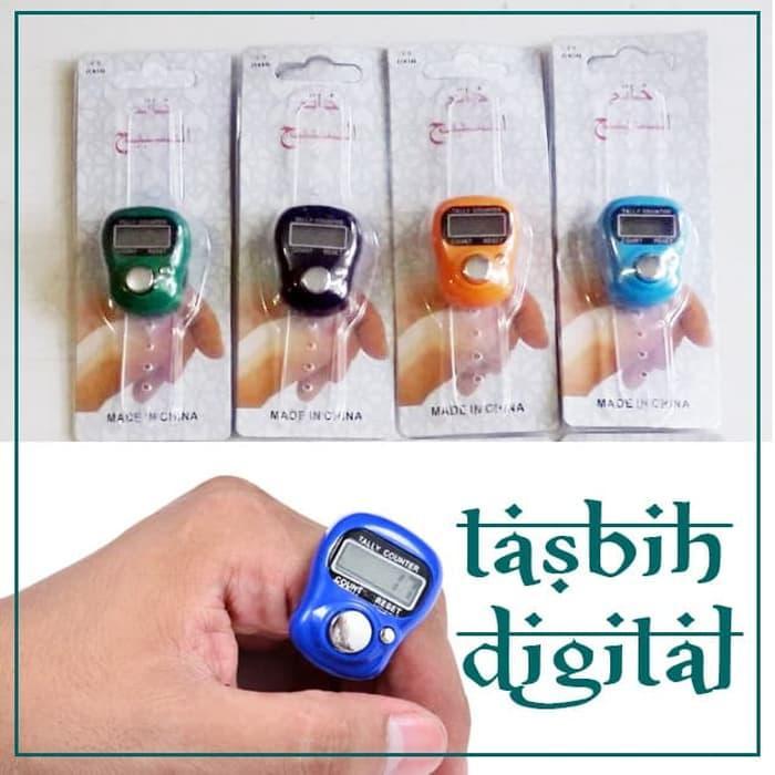 Digital Tally Tasbih Digital Finger Counter Mini