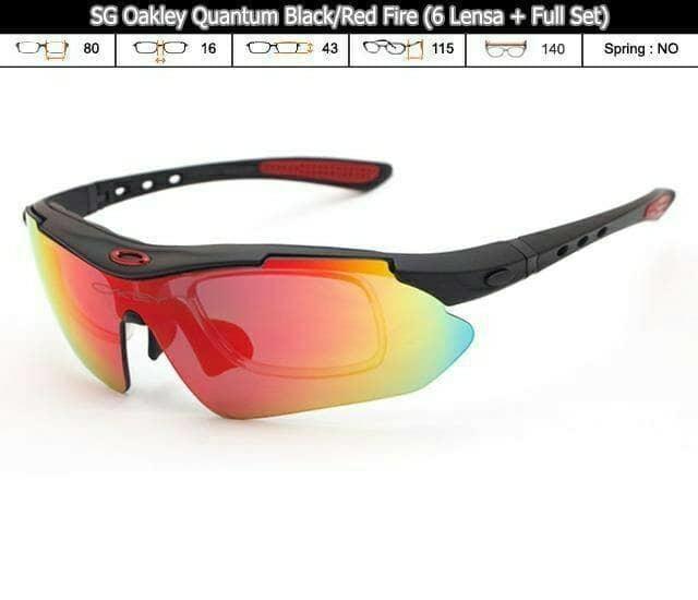 HARGA DISKON!!! Kacamata 6 Lensa Oakley Quantum