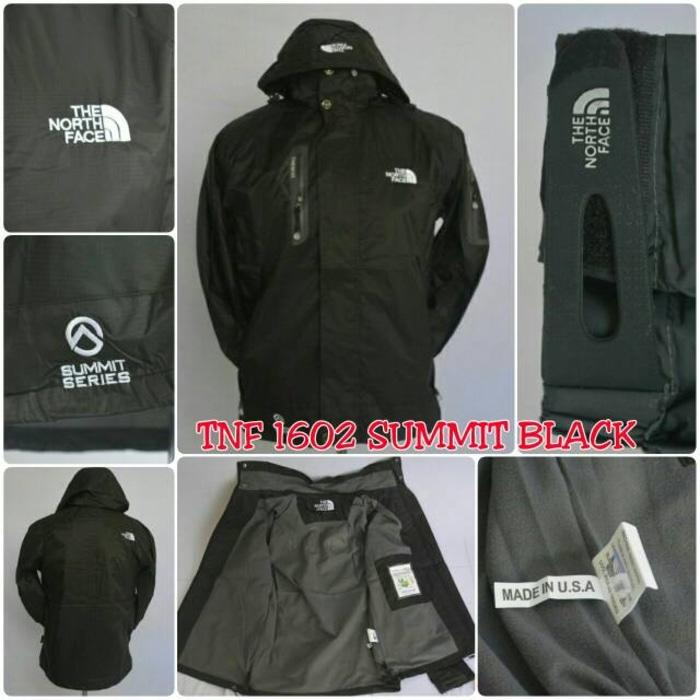 Jaket Gunung / Jaket Outdoor Tnf The North Face 1602 Waterproof Hitam - Lhc0qh By Anindita Collections.