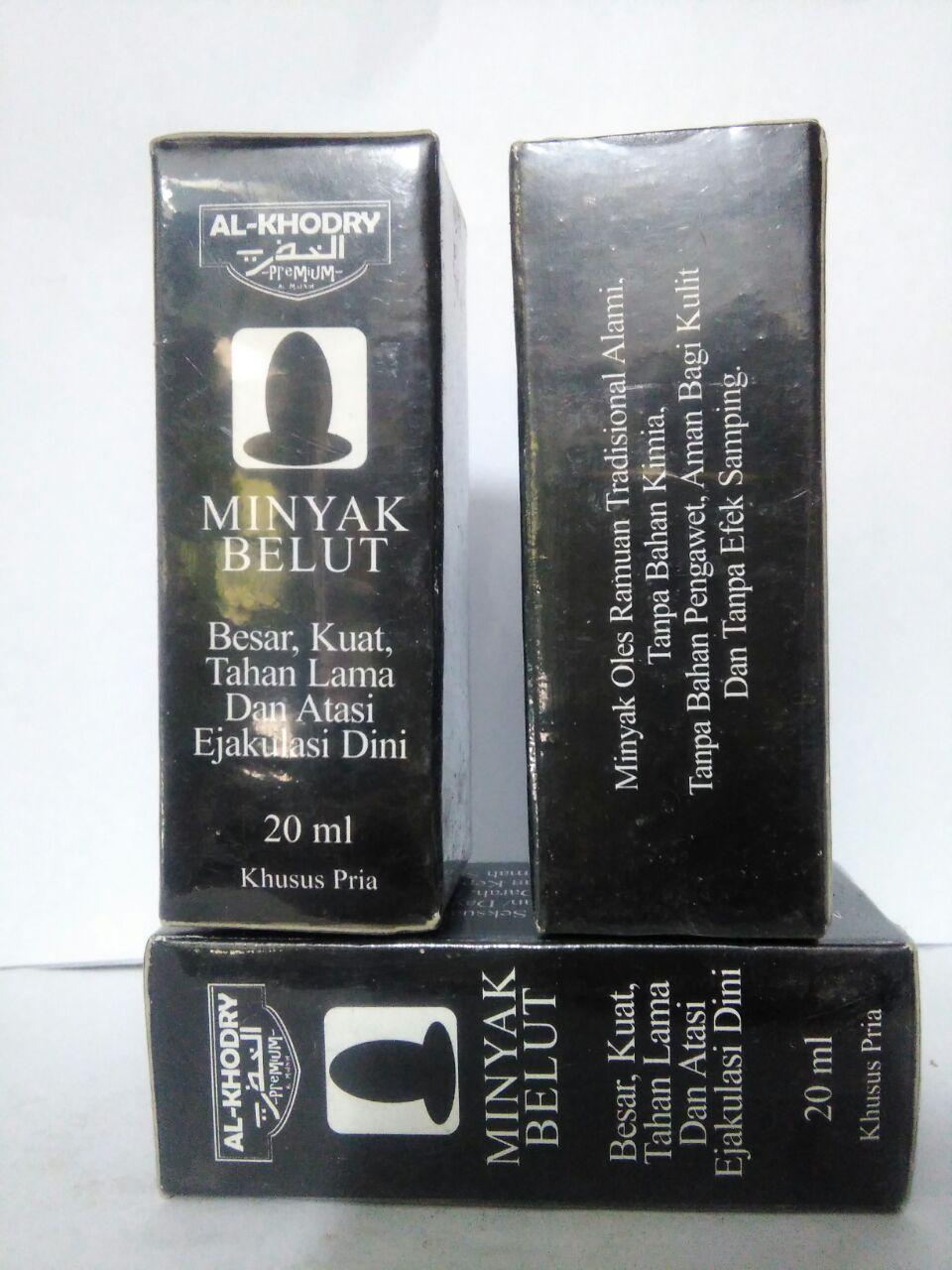 MINYAK BELUT ( Original ) - 20 ml AL KHODRY Minyak ramuan tradisional tanpa bahan kimia