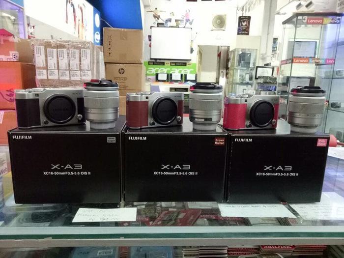 Camera Kamera Fujifilm XA-3 XA3 16-50MM