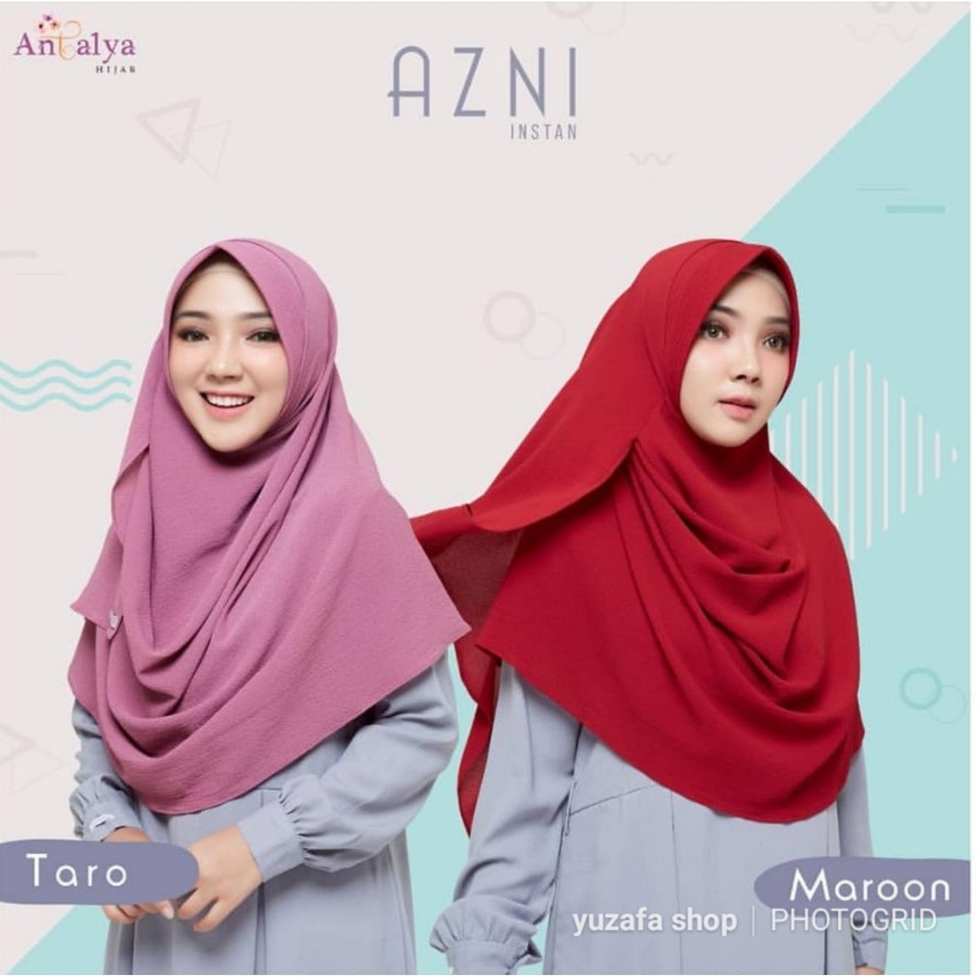 Antalya Hijab jilbab pasmina instan Azni Size S Taro Yuzafa Olshop