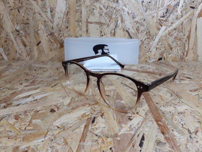 kacamata motif wood paket hemat free lensa transition