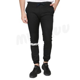 Harga preferensial Jogger Strip Sweet Pants Remaja Celana Jogger Panjang Mejikuu terbaik murah - Hanya Rp40.851