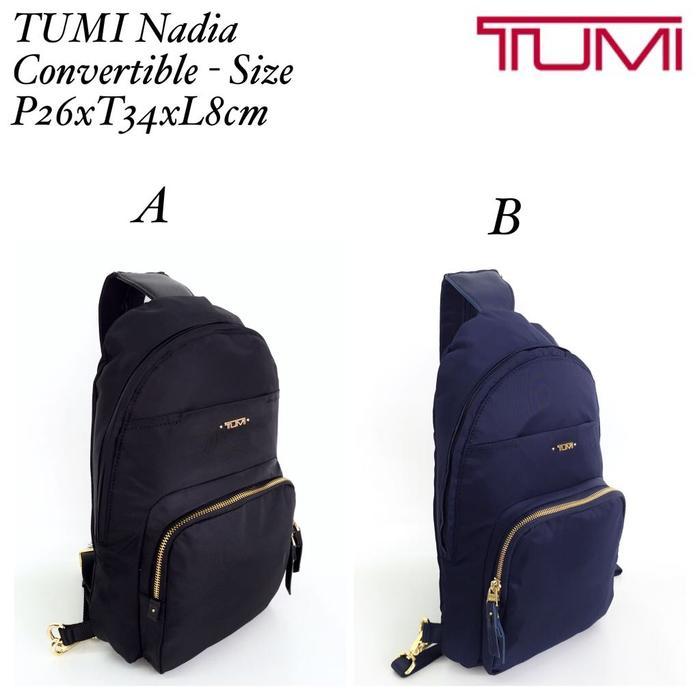 Tas TUMI ORI Nadia Convertible Backpack Slingbag Ransel