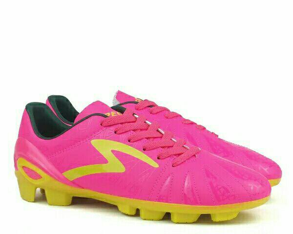 Sepatu Bola Specs Tomahawk FG Pink Original