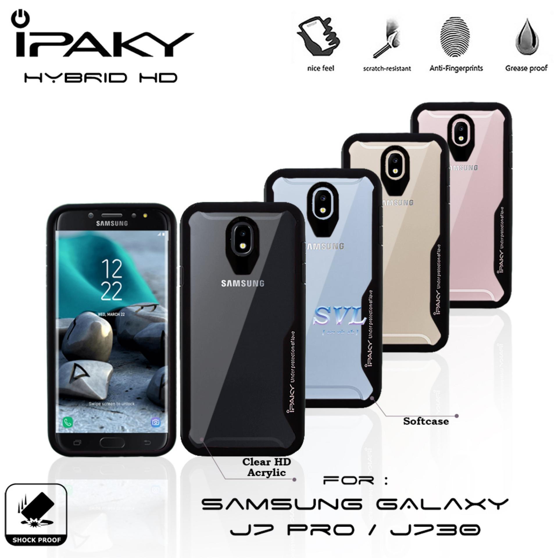 Casing Ponsel Ipaky Terlengkap Case Xiaomi Redmi Note 5a Non Finger Print Carbon Cover Karbon Premium Softcace Silikon Samsung Galaxy J7 Pro J730 Hd Acrylic Softcase