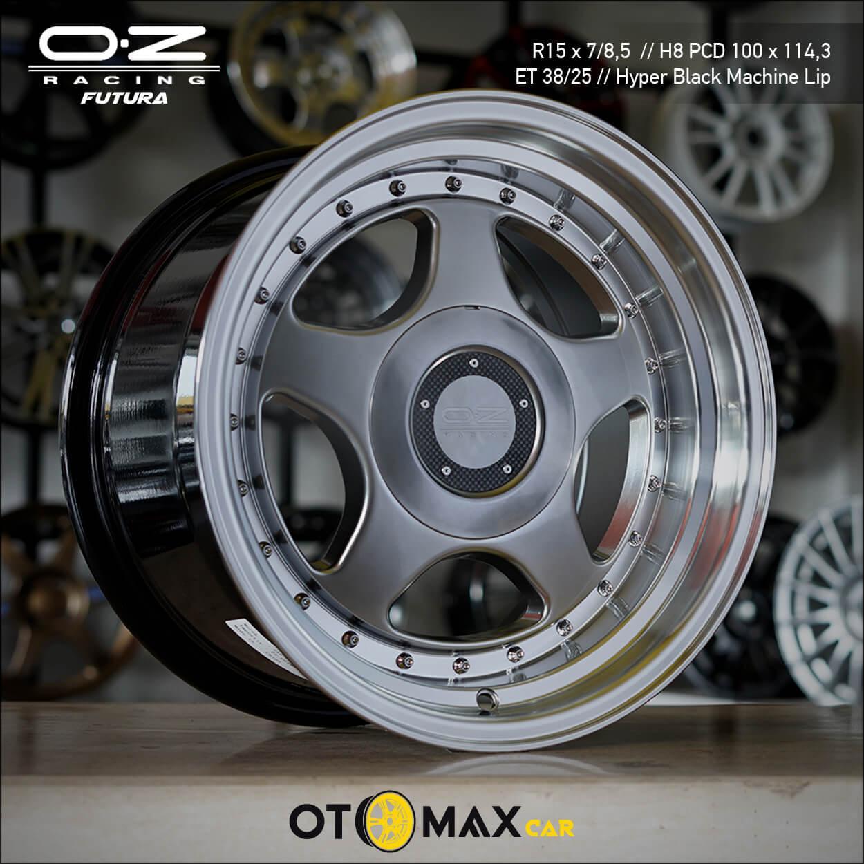 Velg Mobil OZ Futura Ring 15 Hyper Black/ML