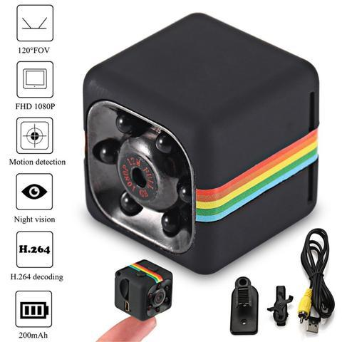 TERLARIS !!! - Kamera Pengintai Mini SQ11 Spy Camera Mini Spy Cam 12MP 1080P Full HD DVR Night Vision - kamera Mini Spy kamera MIni kamera pengintai kecil