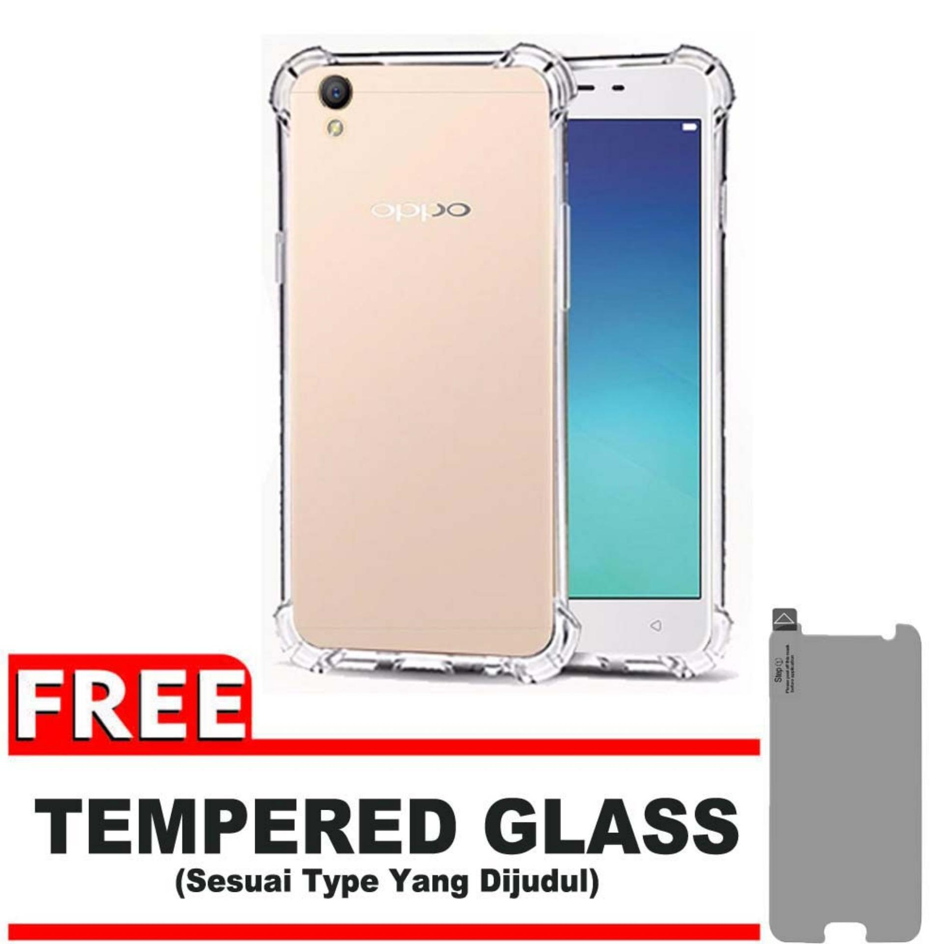 Rp 17.900 ShockCase for Oppo Neo 9 / A37 / A37T / A37F   Premium Softcase Jelly Anti Crack Shockproof - Gratis ...