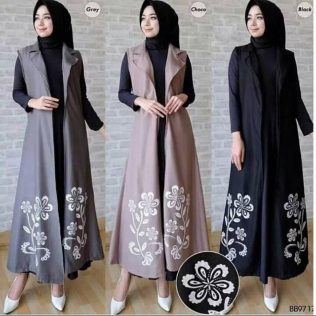 Vshop91jkt - Outer Flowa Blus Outer Baju Outer Blus Keren Blouse Twiscone Blouse Cantik Baju Arisan Baju Reuni Blouse Muslim Atasan Muslim Tunik Wanita ...