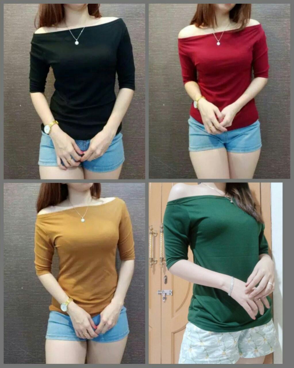 inbox fashion sabrina vera 03 / dress / jaket wanita / kaos wanita / blus wanita