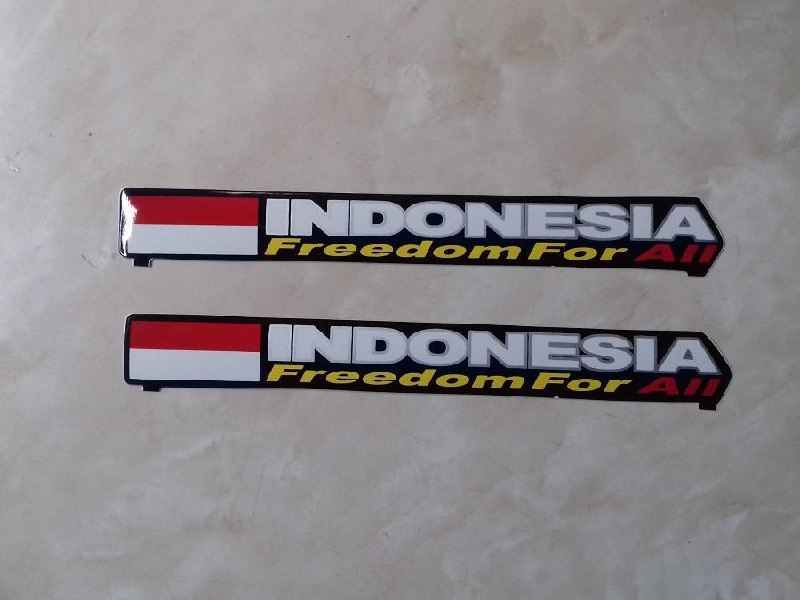 Stiker Panjang Indonesia 01 isi 2 pcs